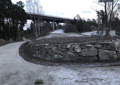 Kallmur Kungsängen, Svevia