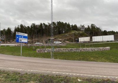 Kallmur Roslags-Näsby Trafikplats
